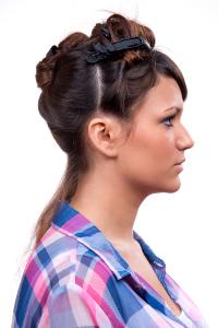 Peinado pin up paso a paso 2