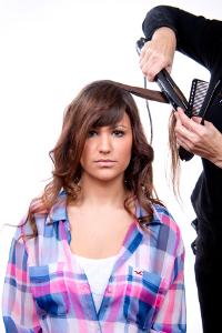 peinado pin up paso a paso 4