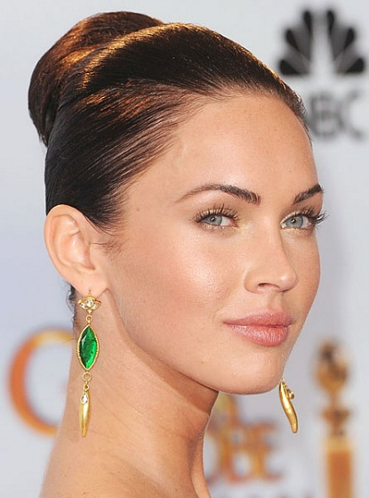 Megan Fox tendencias de maquillaje profesional