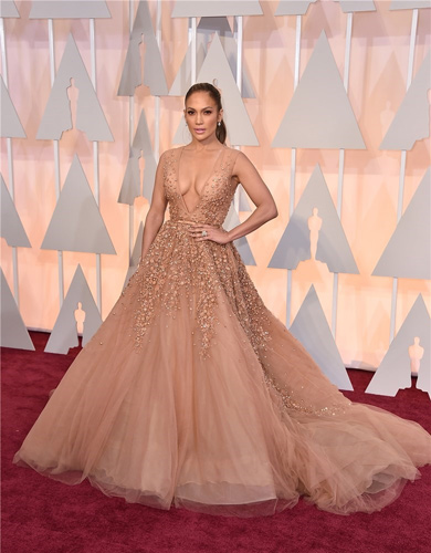 peinado oscar Jennifer Lopez 2015