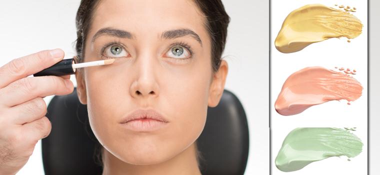 Consejos sobre cómo maquillarte: para qué sirven los correctores de colores