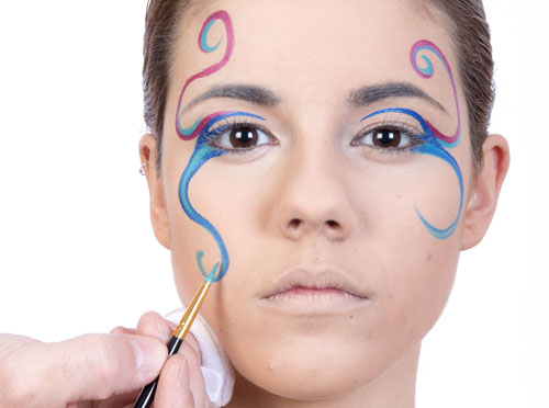 maquillaje paso a paso carnaval
