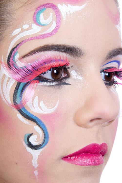 maquillaje serpentina