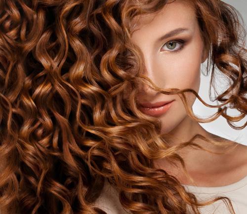 color pelo marrón