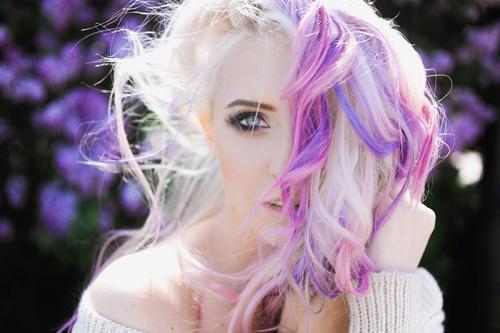 color pelo pastel