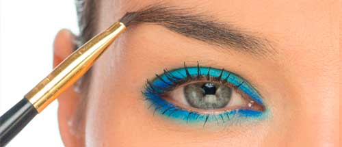 maquillaje ojos cejas