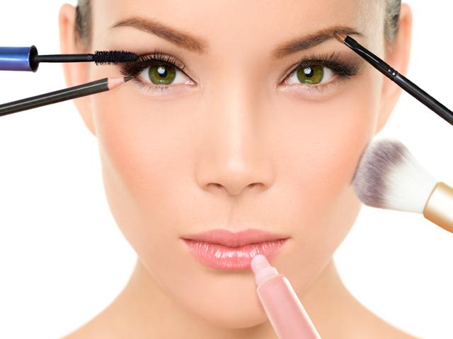 El maquillaje apropiado