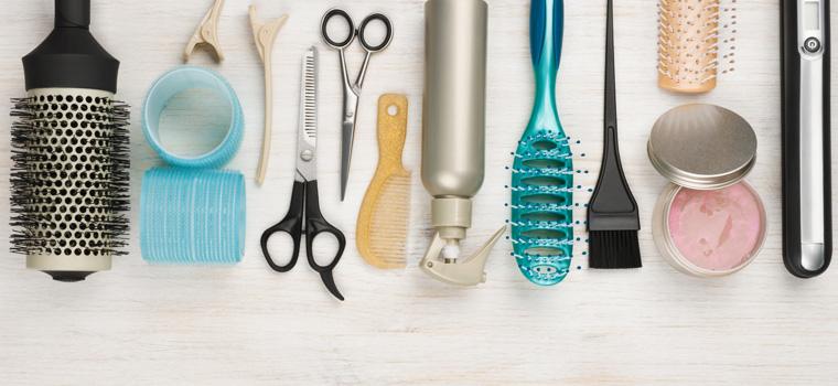 Materiales imprescindibles en un equipo de peluquería profesional