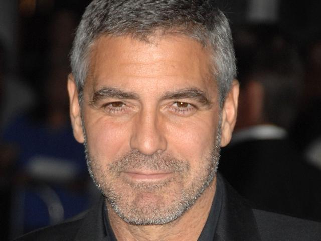 estilo de barba George Clooney