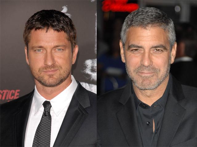 George Clooney y Gerard Butler