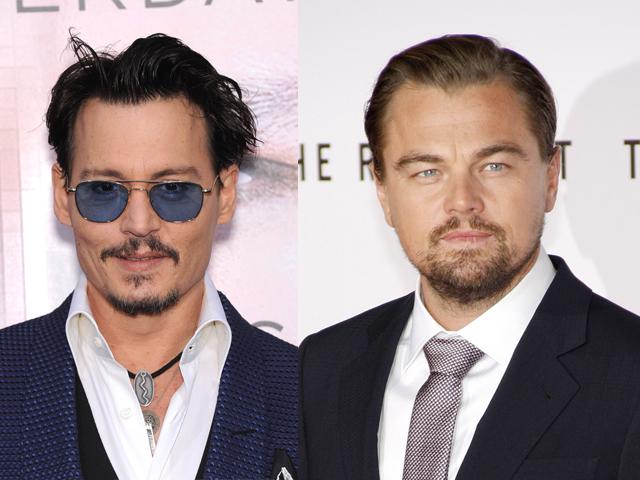 Johnny Deep y Leonardo dicaprio