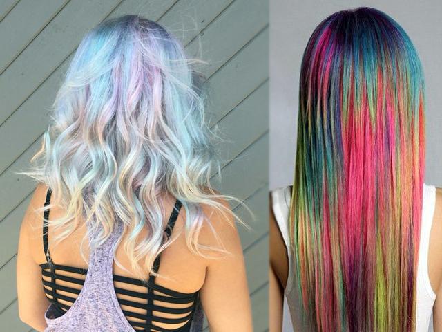 Todo el pelo arcoiris
