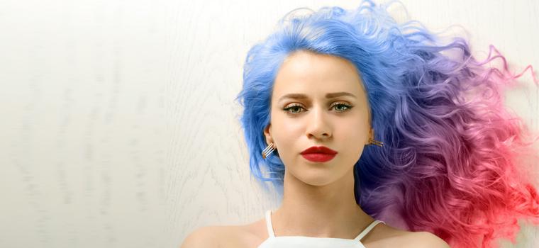 ¿Conoces la nueva técnica del cabello arcoiris?