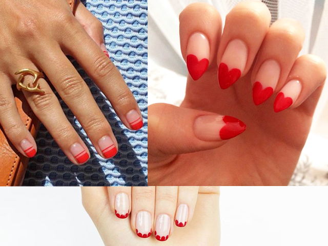 French Manicure Fuente, Pinterest