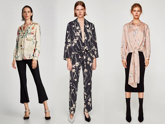 Estilo pijama. Los tres looks de Zara