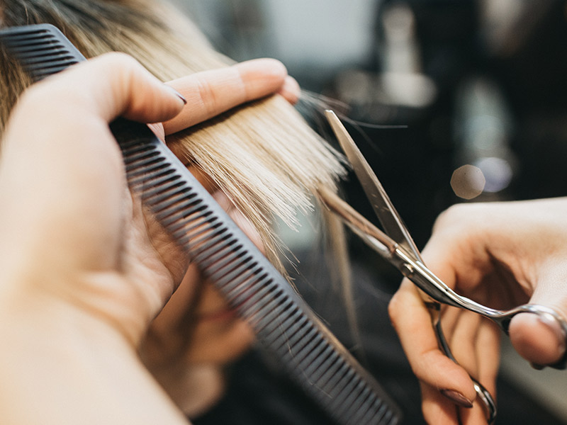 tecnicas de corte de cabello