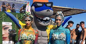 CAZCARRA Y TEN IMAGE MAQUILLAN AL RITMO DE LA MÚSICA URBANA EN EL REGGAETON BEACH FESTIVAL BARCELONA